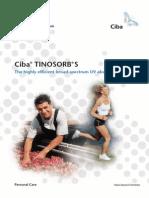 Tinosorb's Brochure