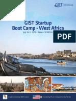 2012 Senegal GIST Boot Camp Brochure