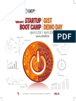 2014 Indonesia GIST Boot Camp Brochure