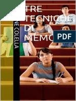 Tre Tecniche Di Memoria (Italian Edition)_nodrm
