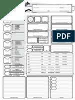 Ficha TRPG - (Baseada Em D&D 5)