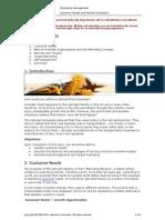 1. Customer Needs and Market Orientation