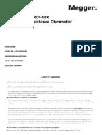Manual DLRO10_10X Ingles