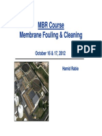 MBR-C3 Fouling & Cleaning
