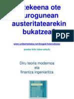 Litekeena ote eurogunean austeritatearekin bukatzea?