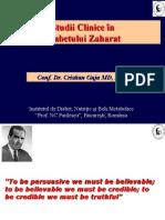 999 Studii Clinice diabet