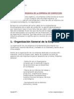2-Estructura Orgánica de La Empresa de Confección