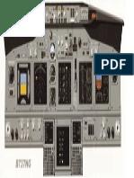 737 NG Instrument Panel PFD ND