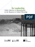 Looking for Leadership - MassINC Global Warming