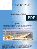 Jetties and Groynes