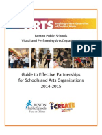 guide to effective arts partnerships 2014-2015