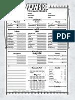 V20 character sheet