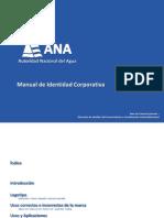Manual de Identidad Coanarporativa Ana