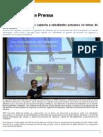 SAP University Alliances Capacita a Estudiantes en La Universidad de Lima