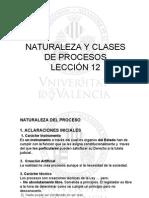 LECCIxN 12 NATURALEZA Y CASES de PROCESOS