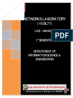 Networks Lab Manual