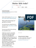 India's Structural Economic Slowdown