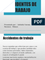 Accidentes de Trabajo y Tipos de Accidentes