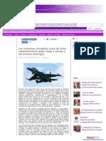Lucha Radioelectrónica Dejan Ciegos a Los Aviones Enemigos