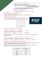 Exercícios Conjuntos - Matemática 1º Ano Em - Gabarito