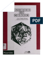 Indices de Miller ALTO Azcapotzalco