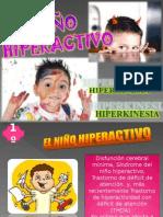 Niño Hiperactivo