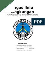 Tugas Ilmu Lingkungan (Jakarta Deep Tunnel)