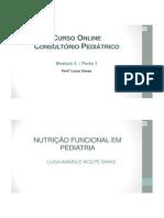 Nutrição Funcional Em Pediatria