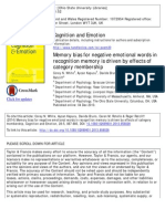 Memory Bias Analysis (1)