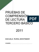 PRUEBAS_DE_COMPRENSIÓN_DE_LECTURA_3°[1]