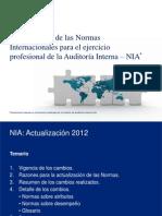 Actualización de las NIA 2012 dic 1 2012-1