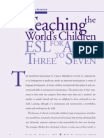 English Teaching for Children