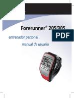 Manual Forerunner