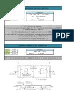 Tabela para Dimensionamento - Fossa, Filtro, Sumidouro e Cx de Gordura