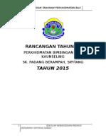 Rancangan Tahunan Bnk 2015