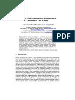 Análisis Técnico-Ambiental de la Producción de Carbonato de Litio en Jujuy