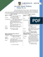 Uniform Policy Yr 0 - 6