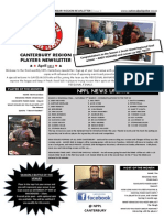 NPPL Canterbury Newsletter - April 2015