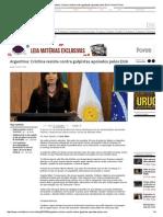 Argentina_ Cristina Resiste Contra Golpistas Apoiados Pelos EUA _ Portal Fórum