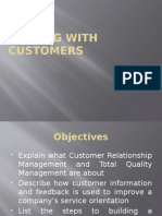 Session 12- Dealing With Customers