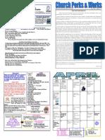 UCP April 2015 Newsletter