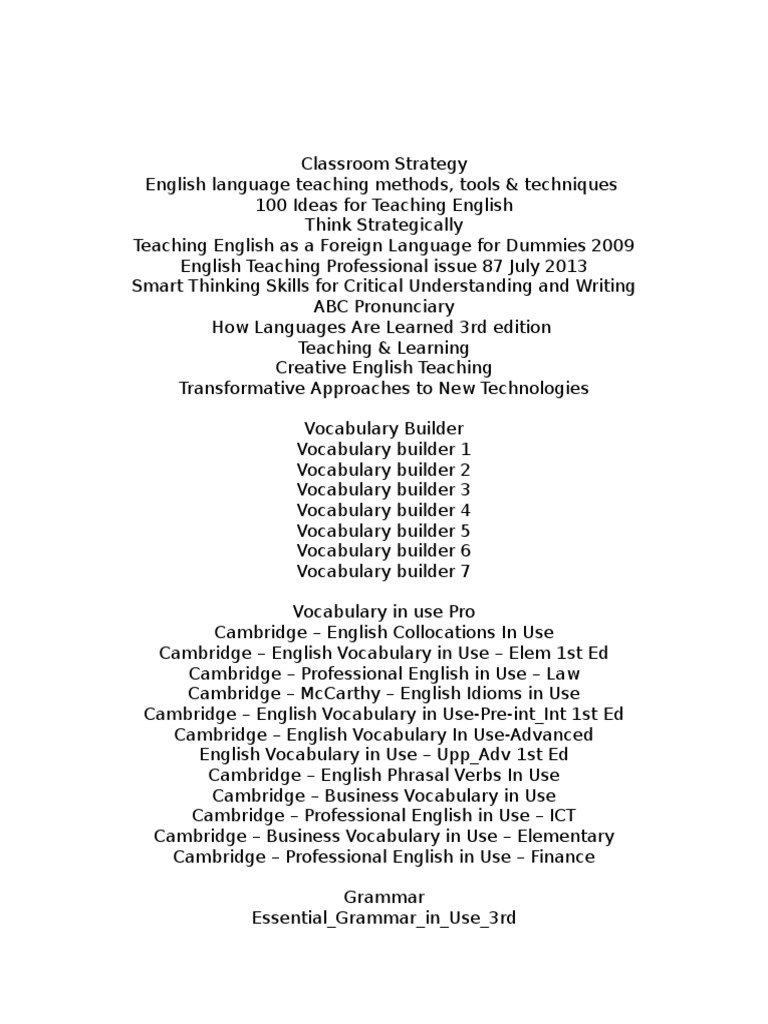 english books docx international english language testing system