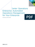 VMware VCenter Operations Enterprise Standalone Automated Operations Mgmt WP En