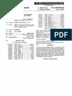 Patente de un proceso e Ingeniería Química