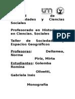 monografia Globalización