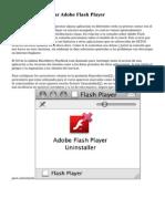 Instalar Y Actualizar Adobe Flash Player