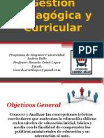 Clase 1 Gestión Pedagogica