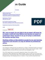 Suspension Guide