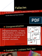 Logical Fallacy Presentation