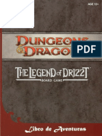Libro aventuras Legend of Drizzt